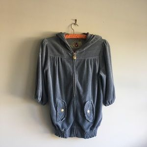 Twisted Heart Terry Cloth Jacket